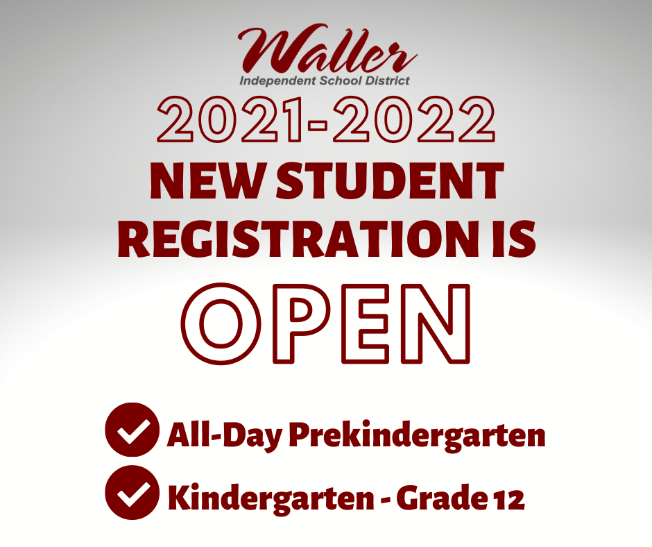 2021-22 New Student Registration is Open