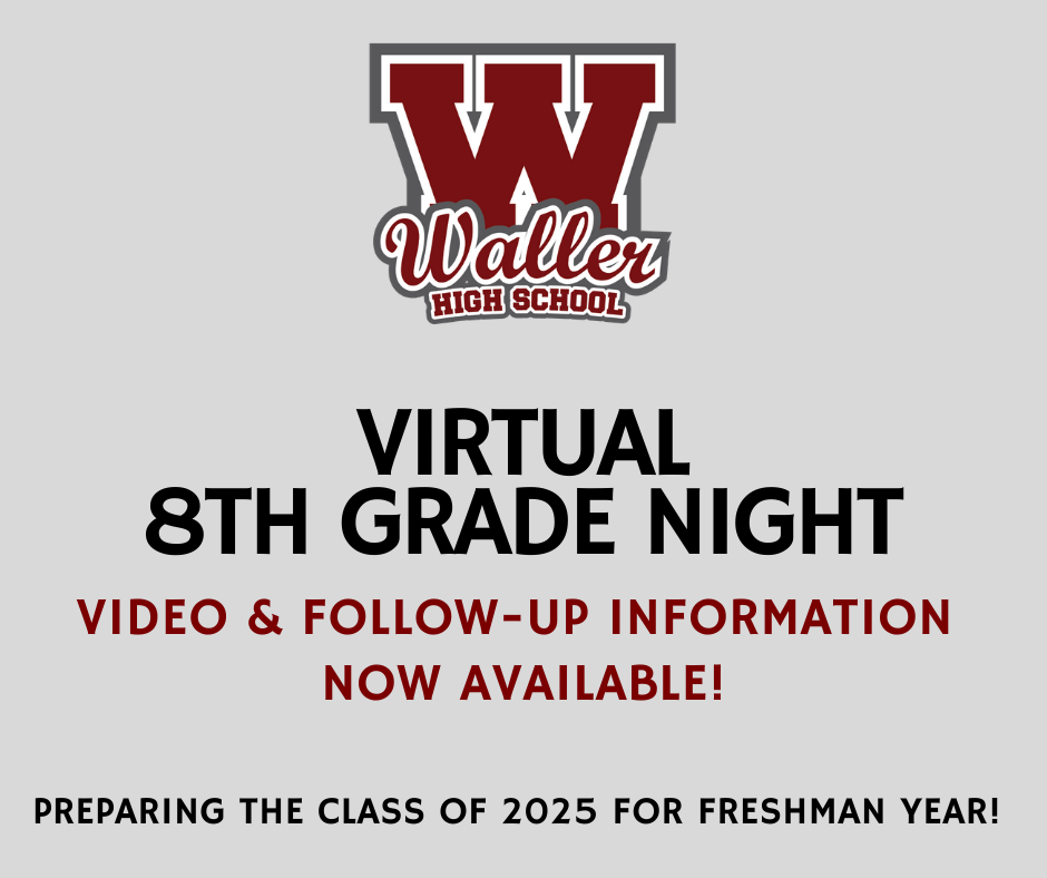 8th Grade Night Video & Follow-Up Information