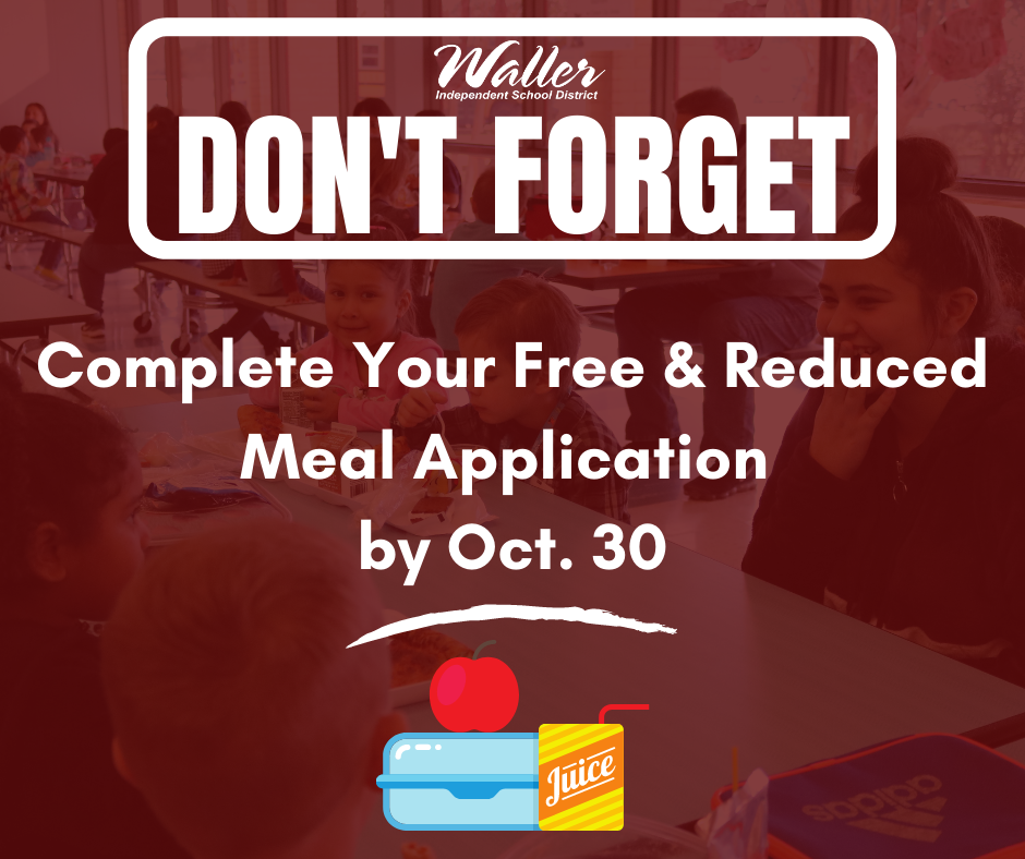 Free/Reduced Meal Application