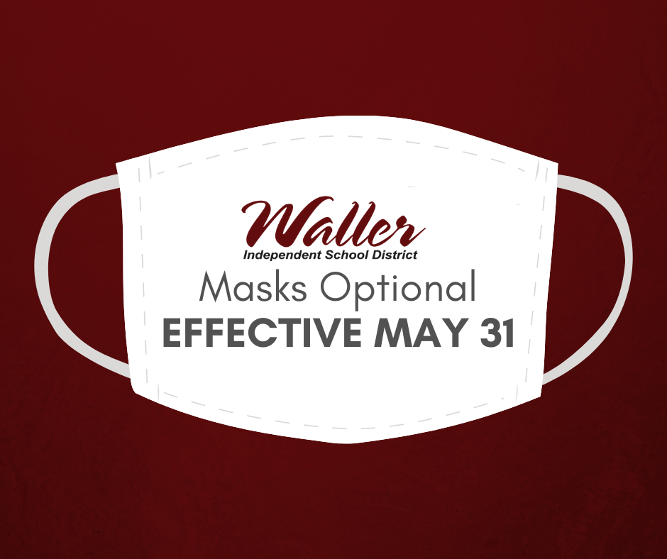 Masks Optional Effective May 31
