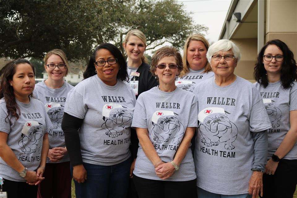 Photo of Waller ISD Health Services Staff