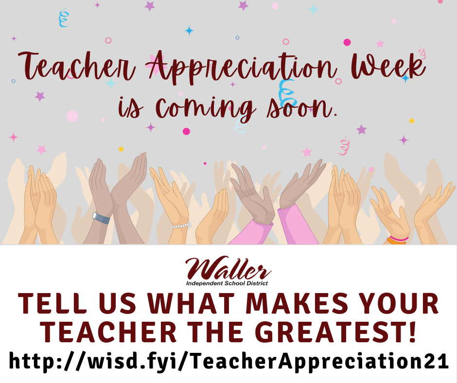 Teacher Appreciation Nominations
