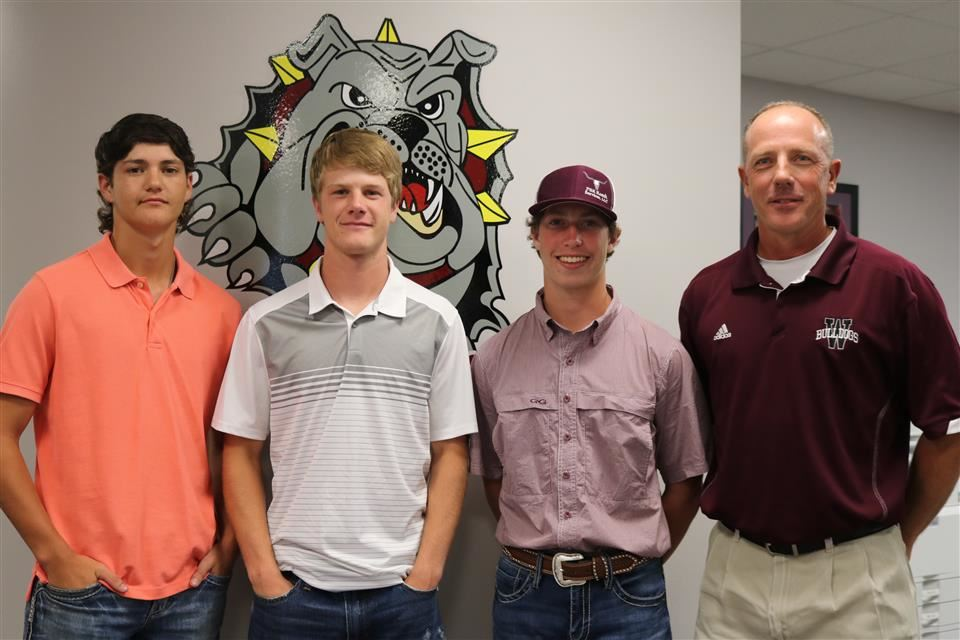 Photo of Waller High School Baseball Team Members