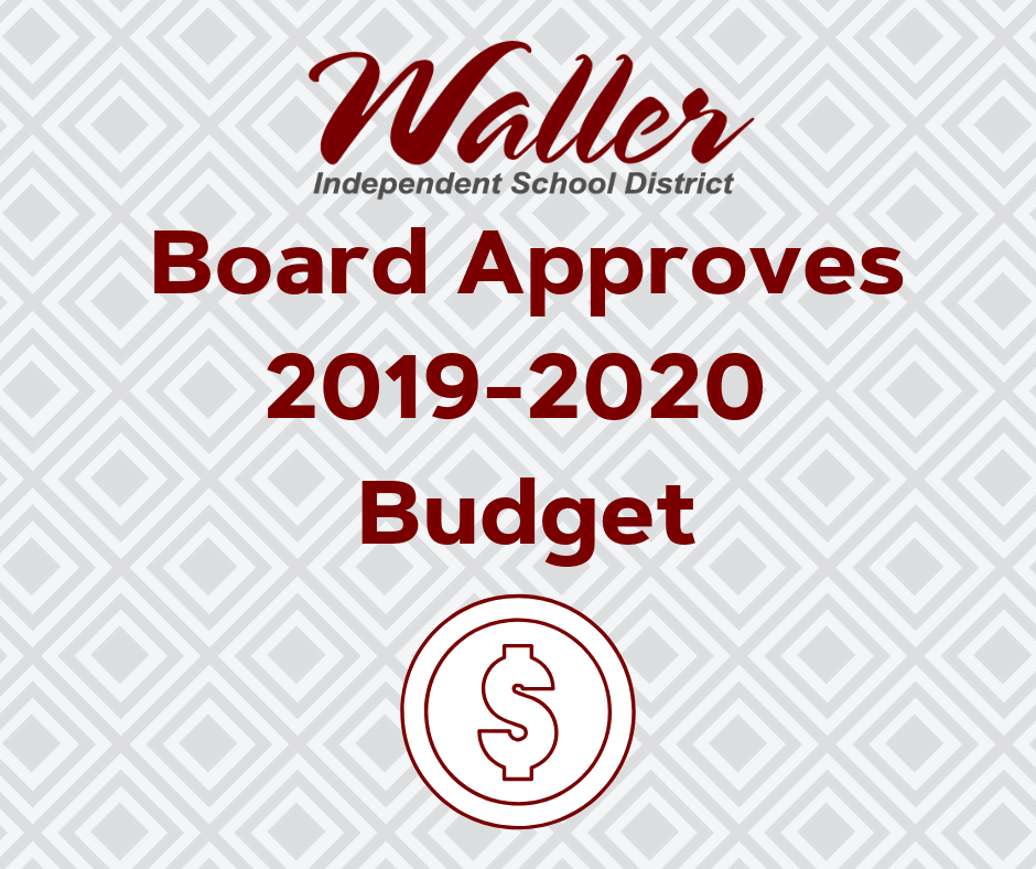Board Approves 2019-2020 Budget