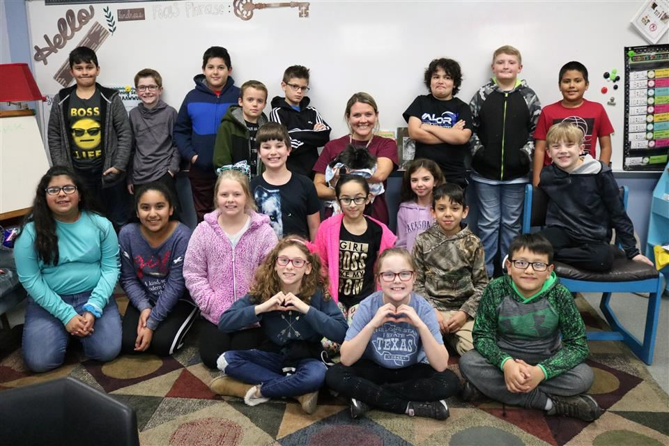 Photo of 4th grade class