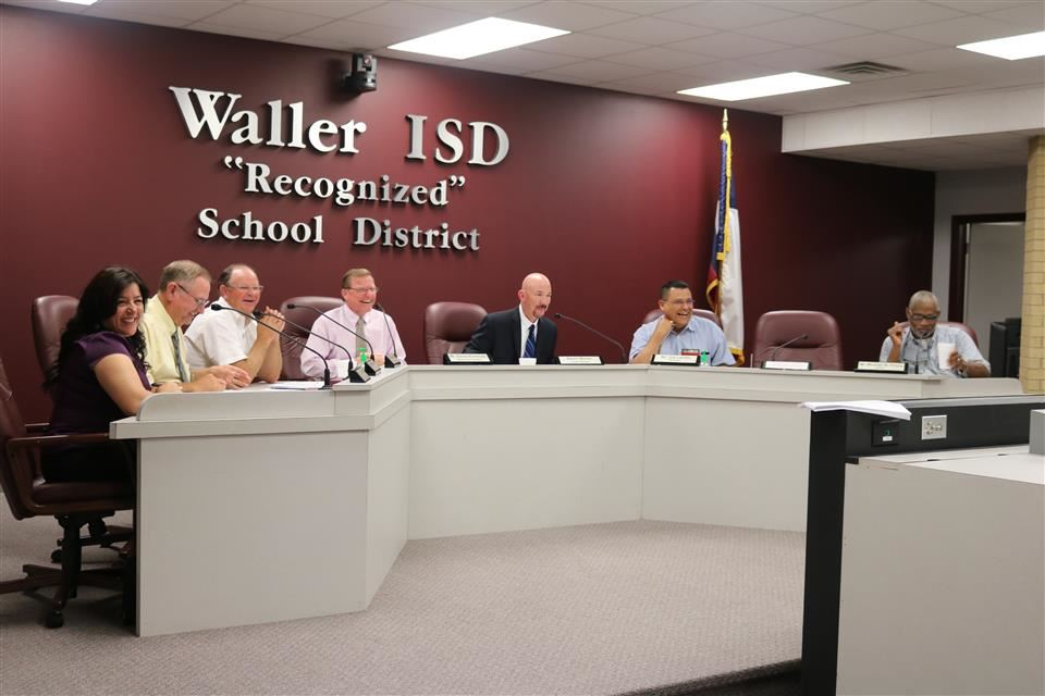Photo of the Waller ISD School Board