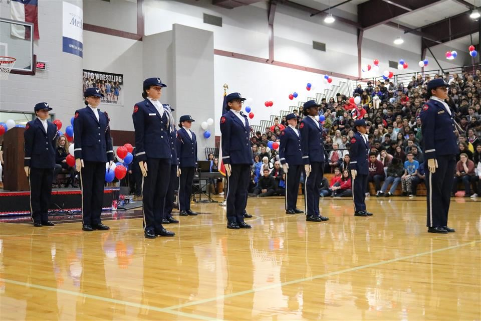 Photo of Waller High School AFJROTC Phantom Drill Team