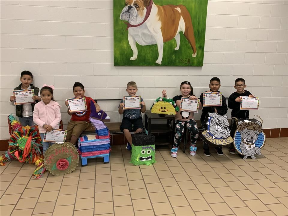 Photo of RRE Pinata Winners