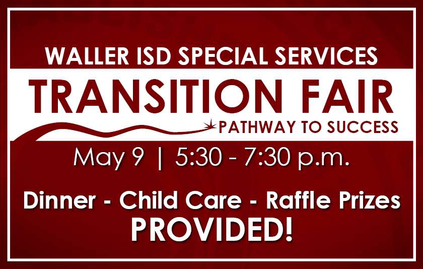 Special Services Transition Fair banner