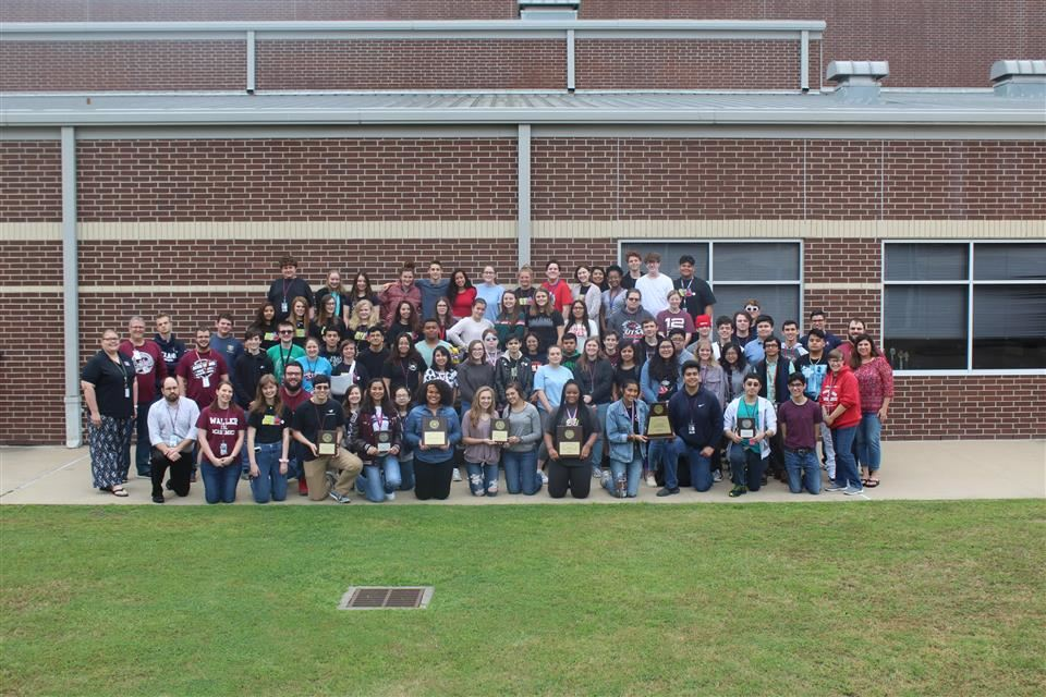 Photo of WHS UIL Academic Team