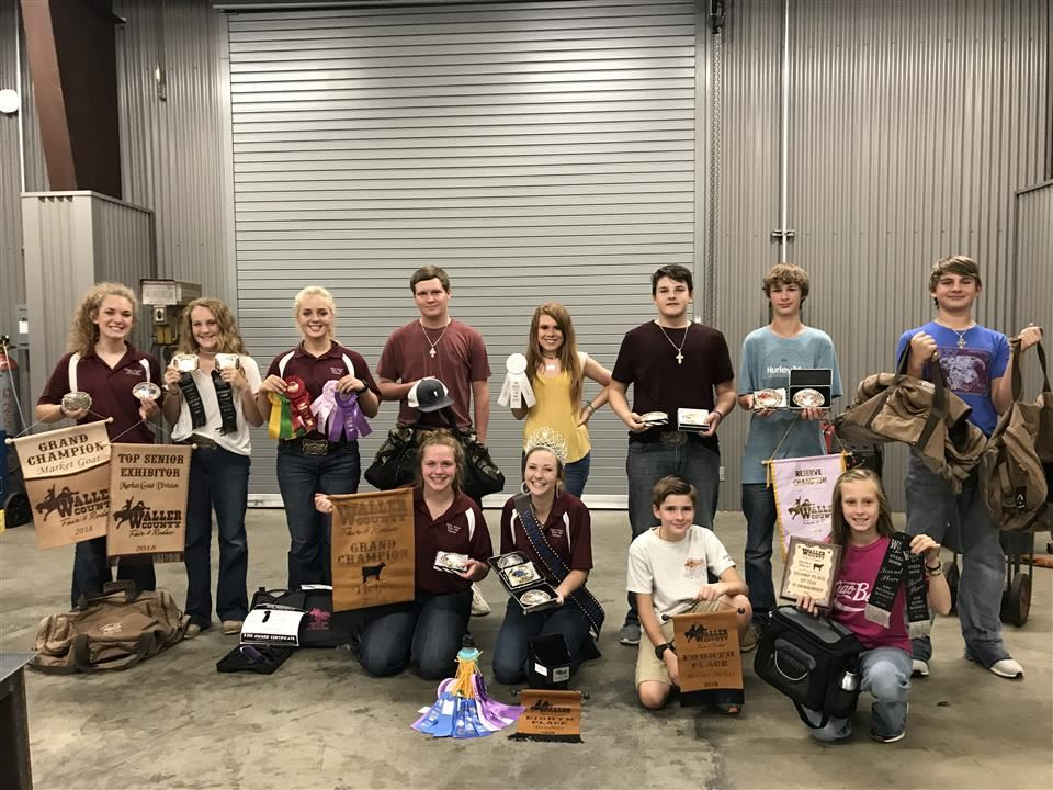 Photo of Waller FFA members