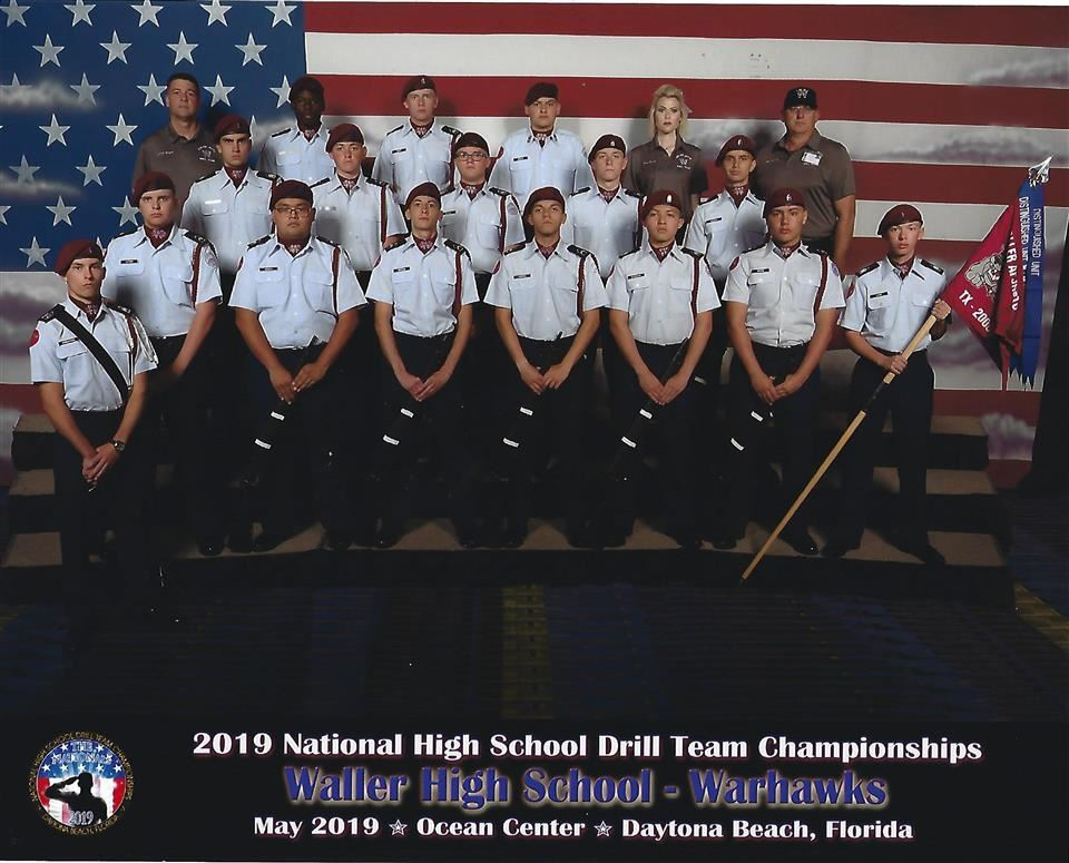 Photo of Warhawks Drill Team