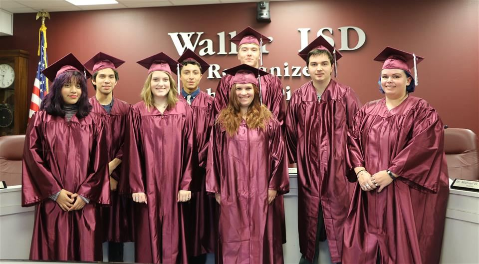 Photo of Waller HS Summer Graduates