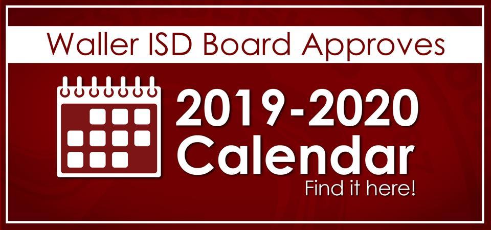 Davis County School Calendar.Waller Isd Homepage